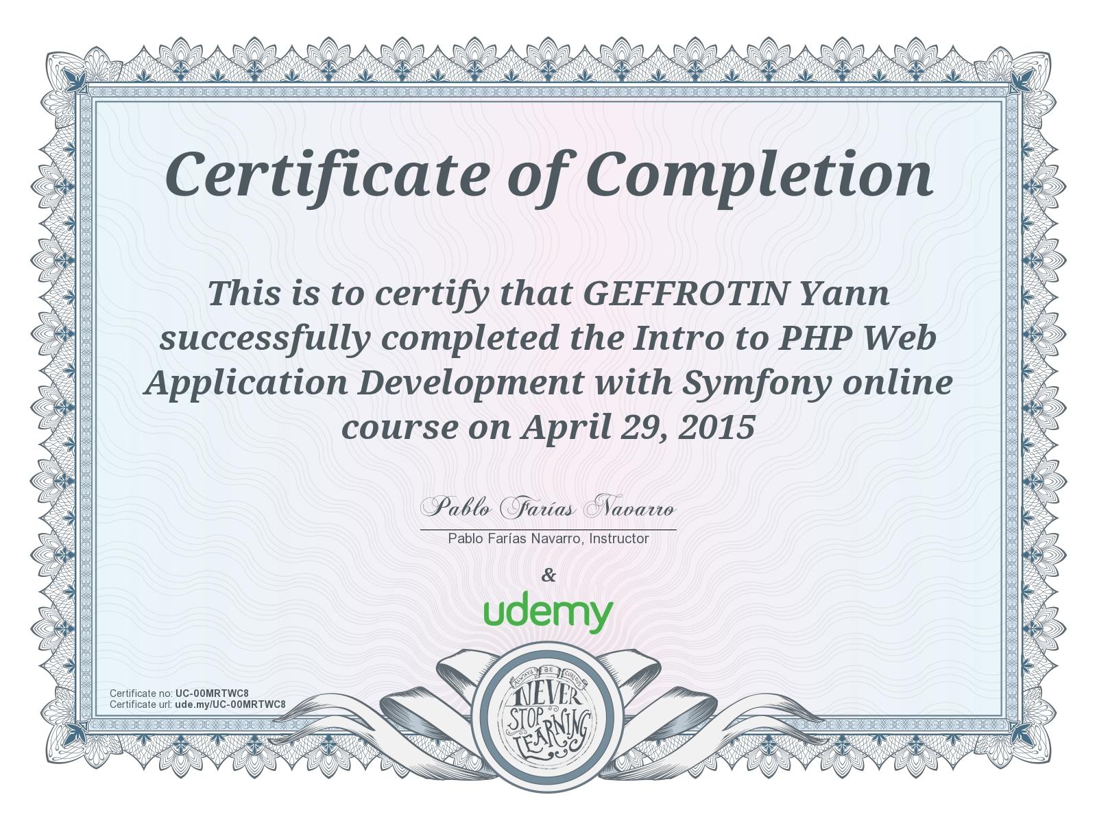 Symfony skill test l exam l contest l certification.